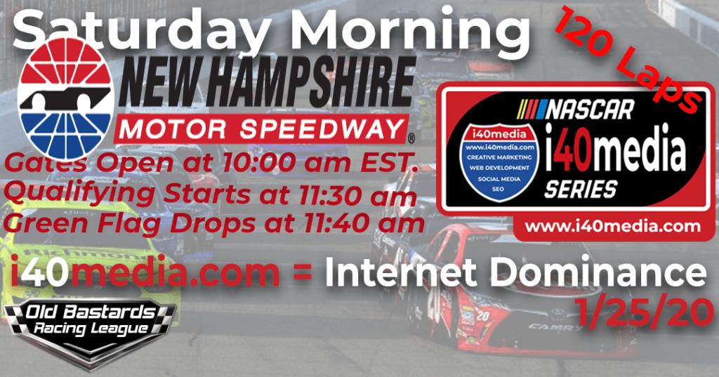 Nascar i40media Grand National Series Race at New Hampshire