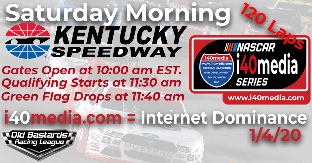 Week #7 i40media Grand Nationals Series Race at Kentucky Speedway – 1/4/20 Saturday Mornings